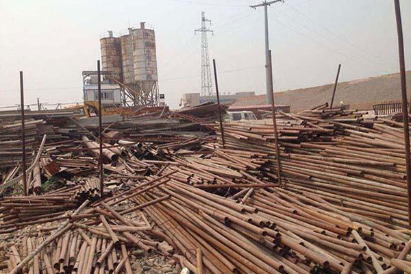 洛阳钢结构厂房拆除回收