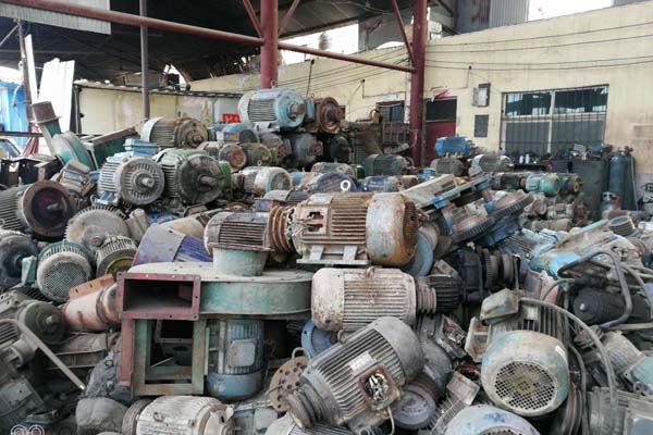 偃师废电机回收案例